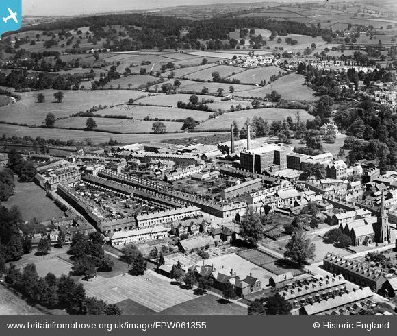 Aerial Photo of Heathcoat's Factory (1939)