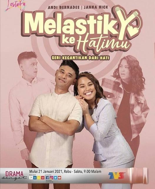 Tonton Drama Melastik Ke Hatimu Di TV3 (Slot Lestary)