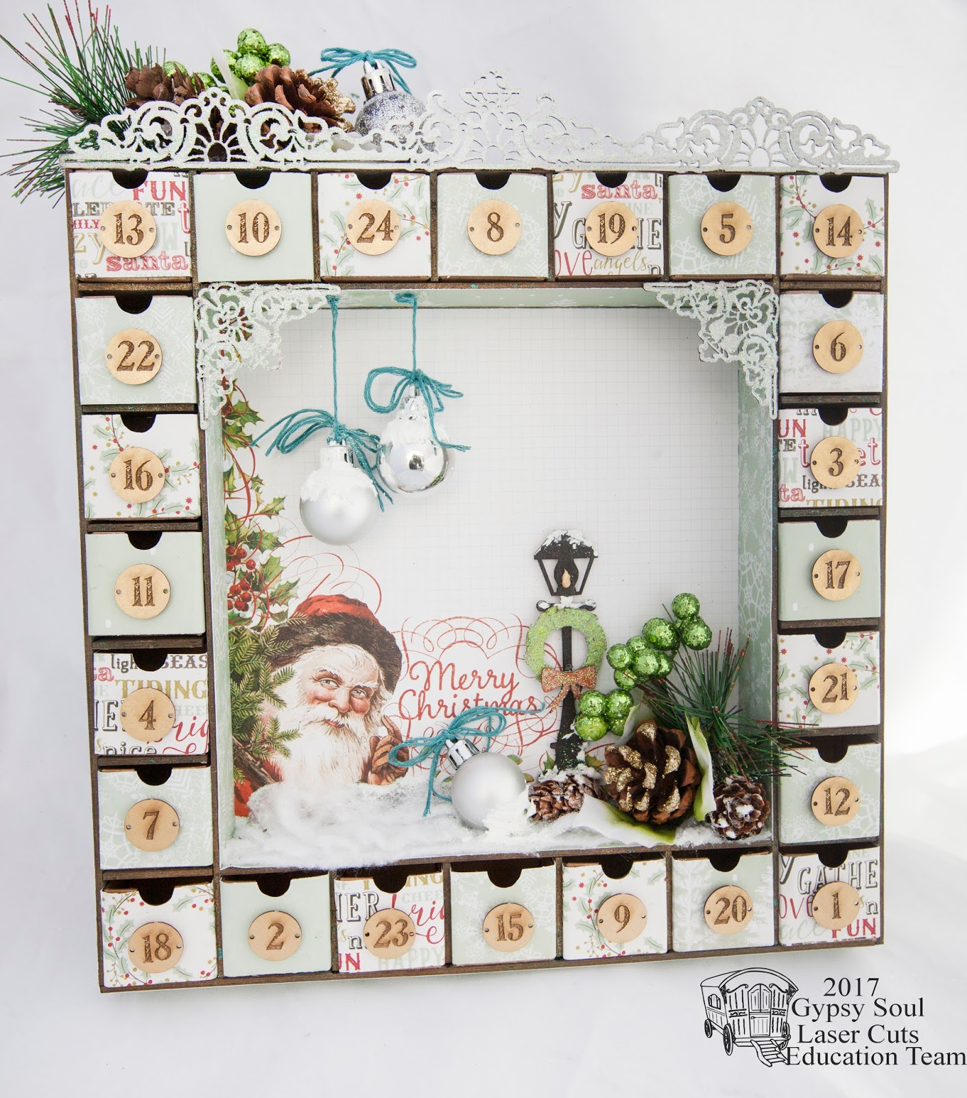 Art Deco Advent Calendar : Leisha s