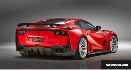 Modifikasi Ferrari 812 Superfast garapan Novitec carscoops.com