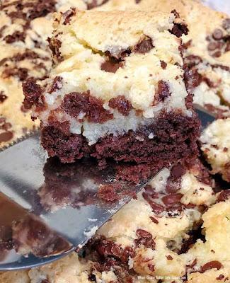 Chocolate Cake Mix Cheesecake Bars