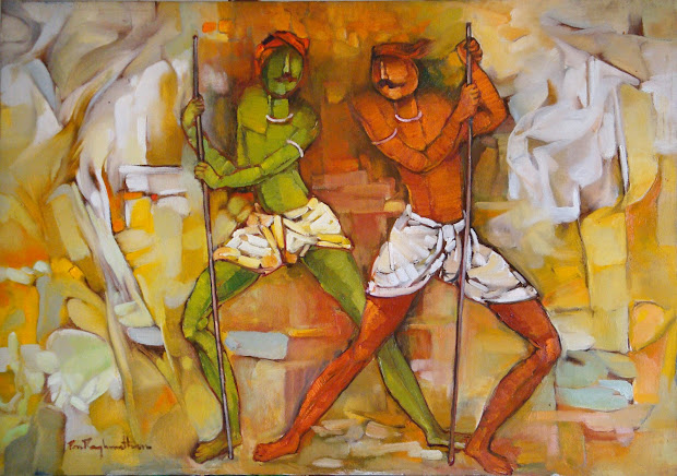 Indian Villages Life Paintings Cini Clips