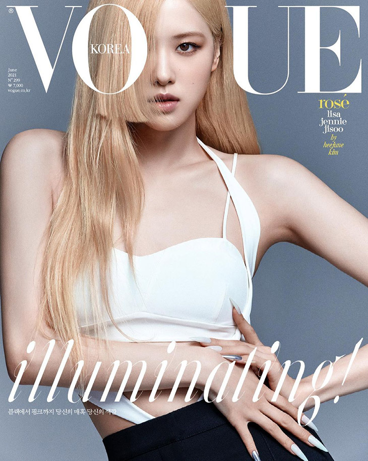BLACKPINK Covers Vogue Korea June 2021 Issue