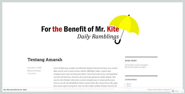 Rusnani Anwar's Blog dalam Blog Terbaik versi sactiest