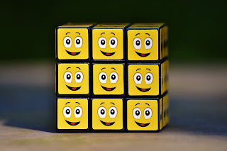 stay positive,motivation,rubik cube,happy, life