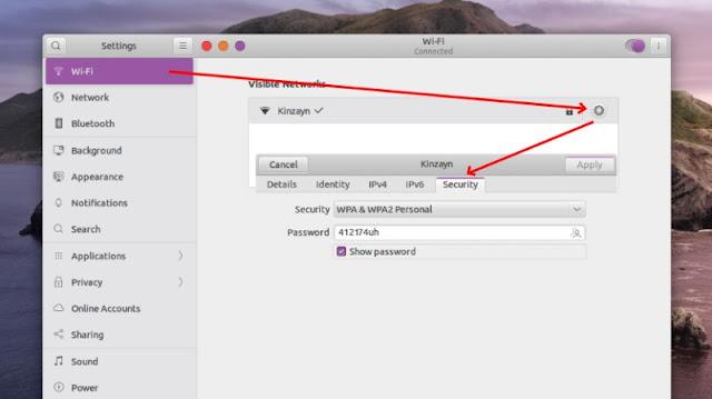 Wifi Settings Ubuntu Linux