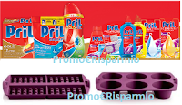 Logo Concorso Pril: Acquista 5€ di prodotti e ogni giorno vinci 1 dei 450 Set di Stampi in Silicone Tupperware