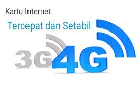 Inilah 3 Kartu Internet Tercepat Dan Stabil Di Jaringan 3G Dan 4G