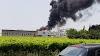 Arbizzano, vasto incendio al salumificio Coati