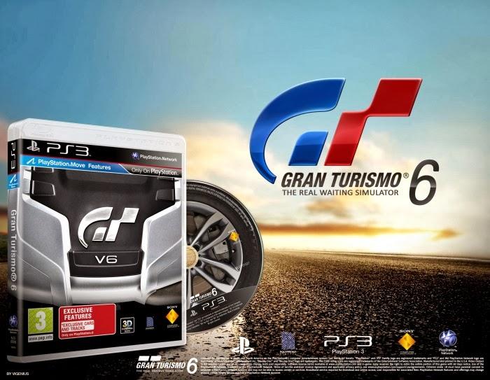 Gran Turismo 6 Multi Region Free Fw 4 4x Duplex For Ps3 Mang Sexno