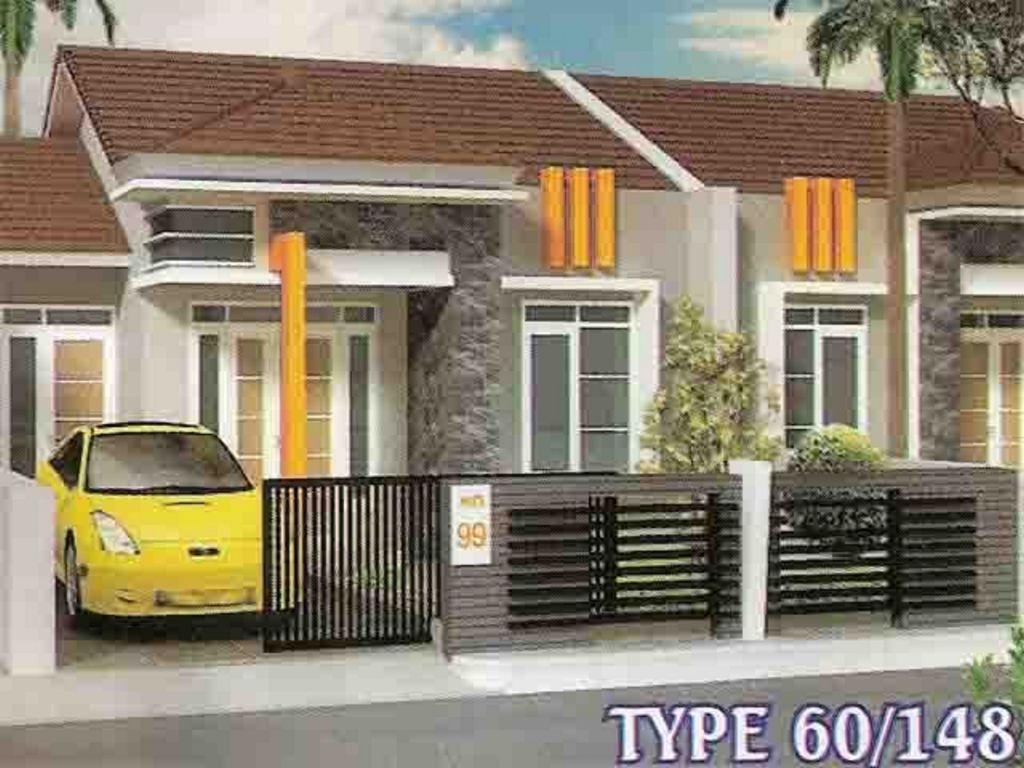 Model 3d Desain Rumah Type 60 Minimalis