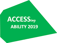 Geometric shape showing Accessing Ability 2019