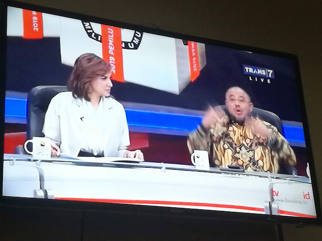 Pantun Menggelikan Aboe Bakar di Mata Najwa, Sindir Siapa?