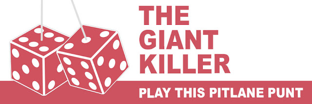 The Giantkiller: play this Pitlane Punt