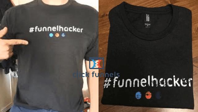 سارع في الحصول على قميص مجانا من Click Funell مع طريقة الطلب