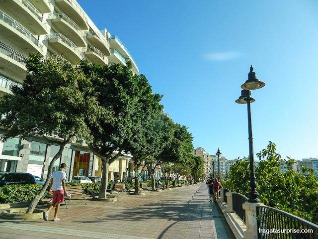 Promenade de Sliema, Malta