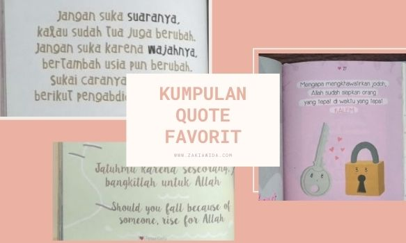 Kumpulan quote favorit