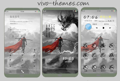 Hero Theme For Vivo Android Smartphone