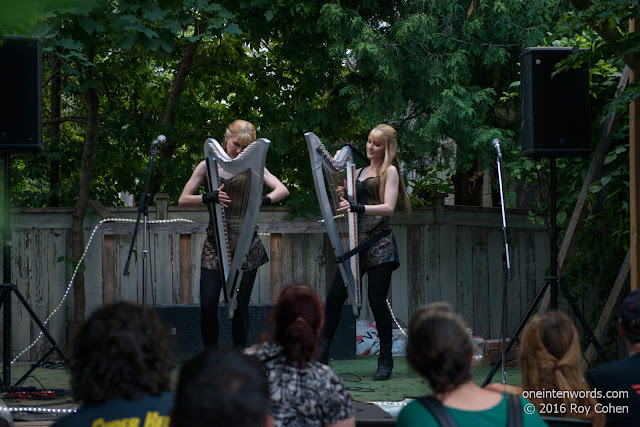 The Harp Twins at 159 Manning June 27, 2016 Photo by Roy Cohen for One In Ten Words oneintenwords.com toronto indie alternative live music blog concert photography pictures