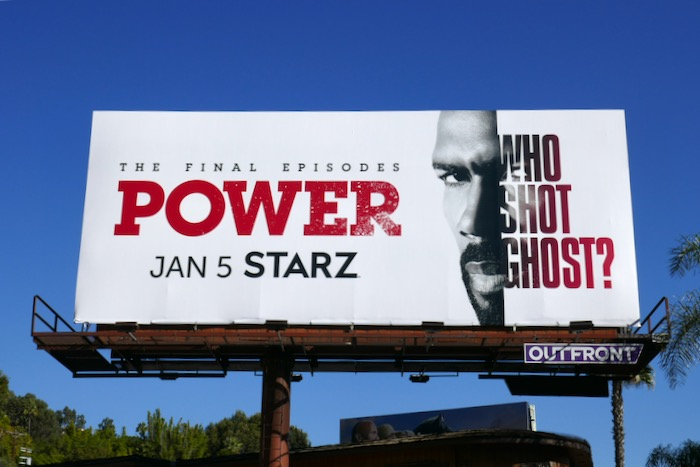Power final episodes Who shot Ghost billboard