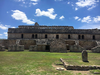 Gran Palacio, Kabah, Ruta Puuc, Mexique