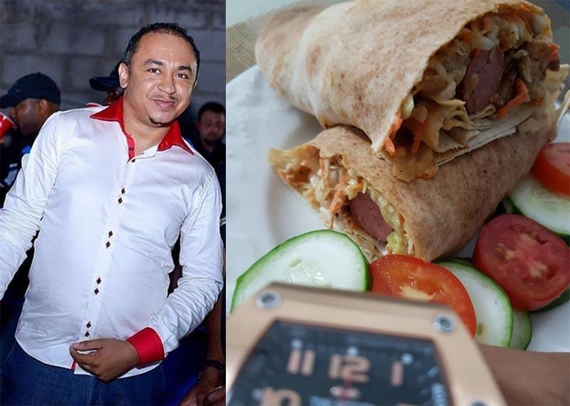 Freeze expresses shock as wife serves him homemade shawarma