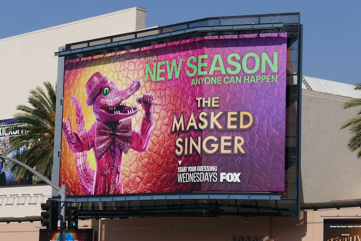 Masked Singer season 4 Crocodile billboard
