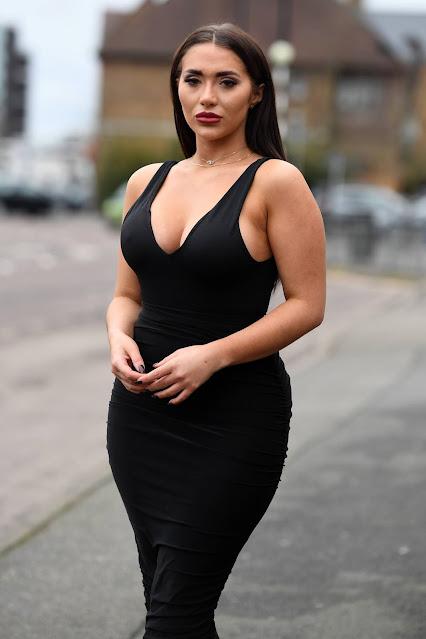 Chloe Brockett – set of 'The Only Way is Essex' TV show in Essex
