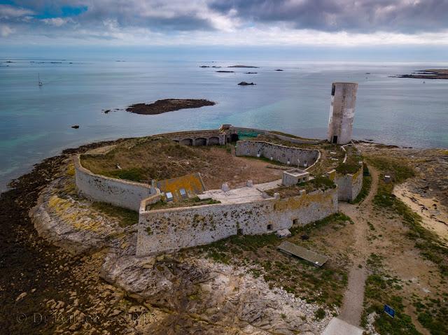 Fort Cigogne — Vue aérienne
