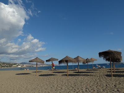 マラガのビーチ