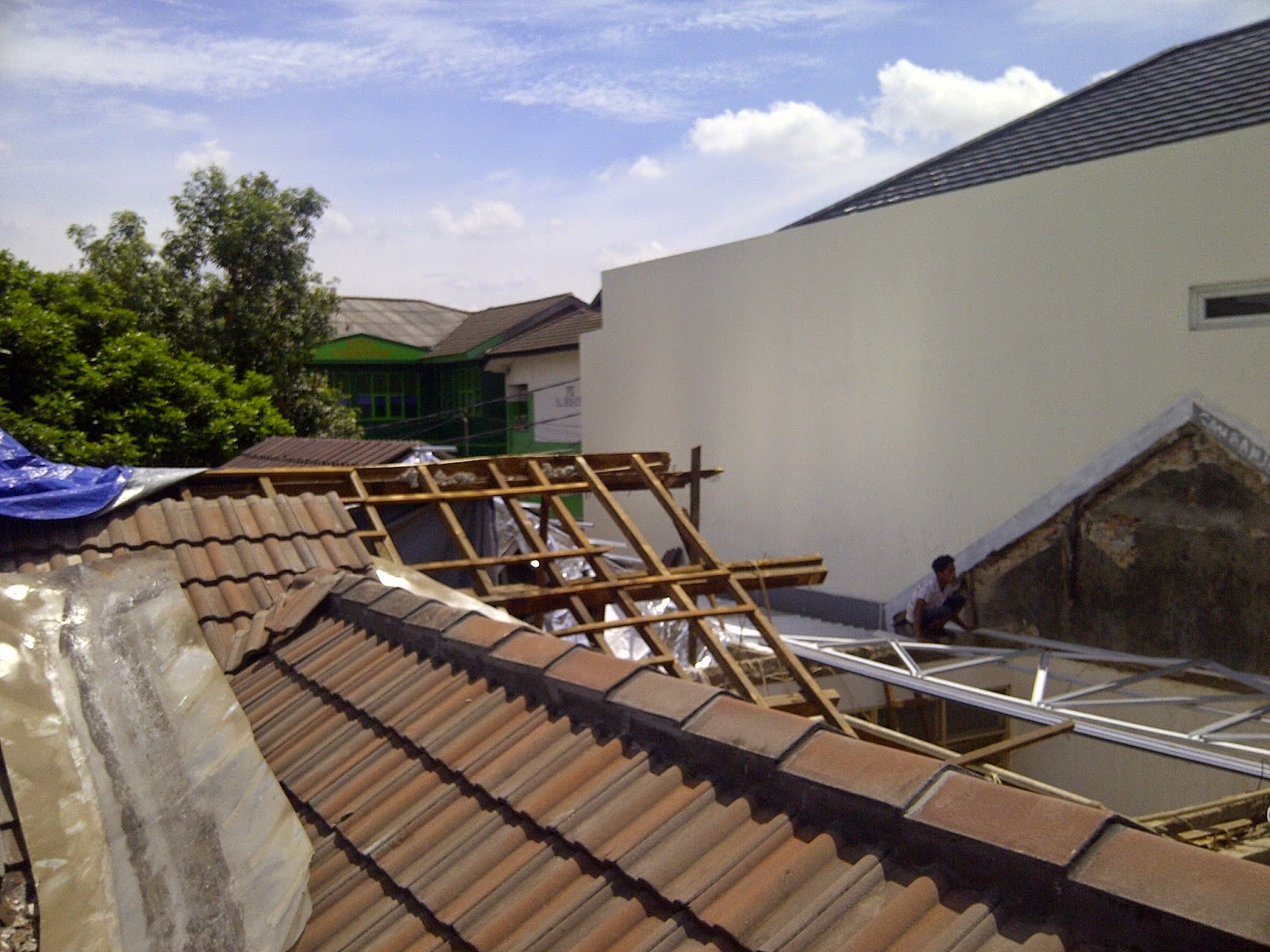 lisplang kanopi baja ringan spesialis i renovasi atap ...