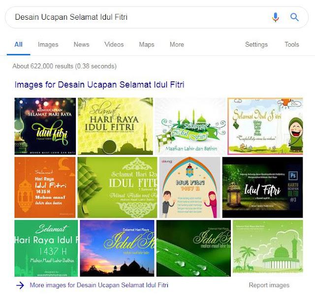Desain Ucapan Selamat Idul Fitri