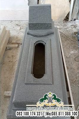 Contoh Makam Granit Islam, Gambar Kijing Granit