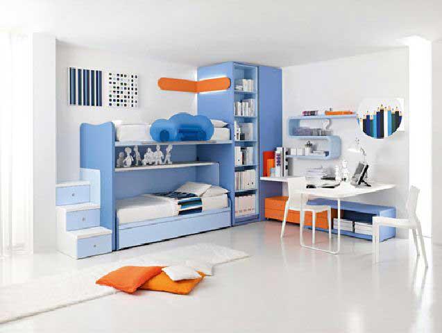 Kamar Tidur Anak Laki - Laki Minimalis