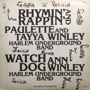 Rhymin' & Rappin' by Paulette and Tanya Winley