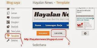 Cara membuat artikel terkait dibawah postingan