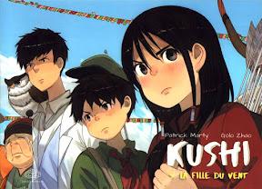 Fiche [7BD] Kushi tome 4 - La fille du vent