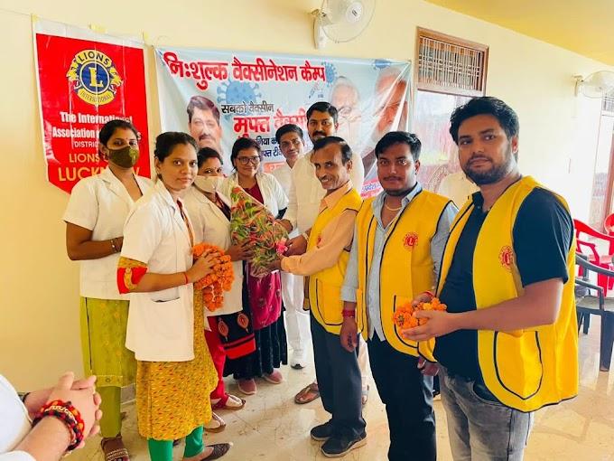 भारतीय जन उद्योग व्यापार मंडल : वैक्सीनेशन कैम्प में उमड़ी भीड़