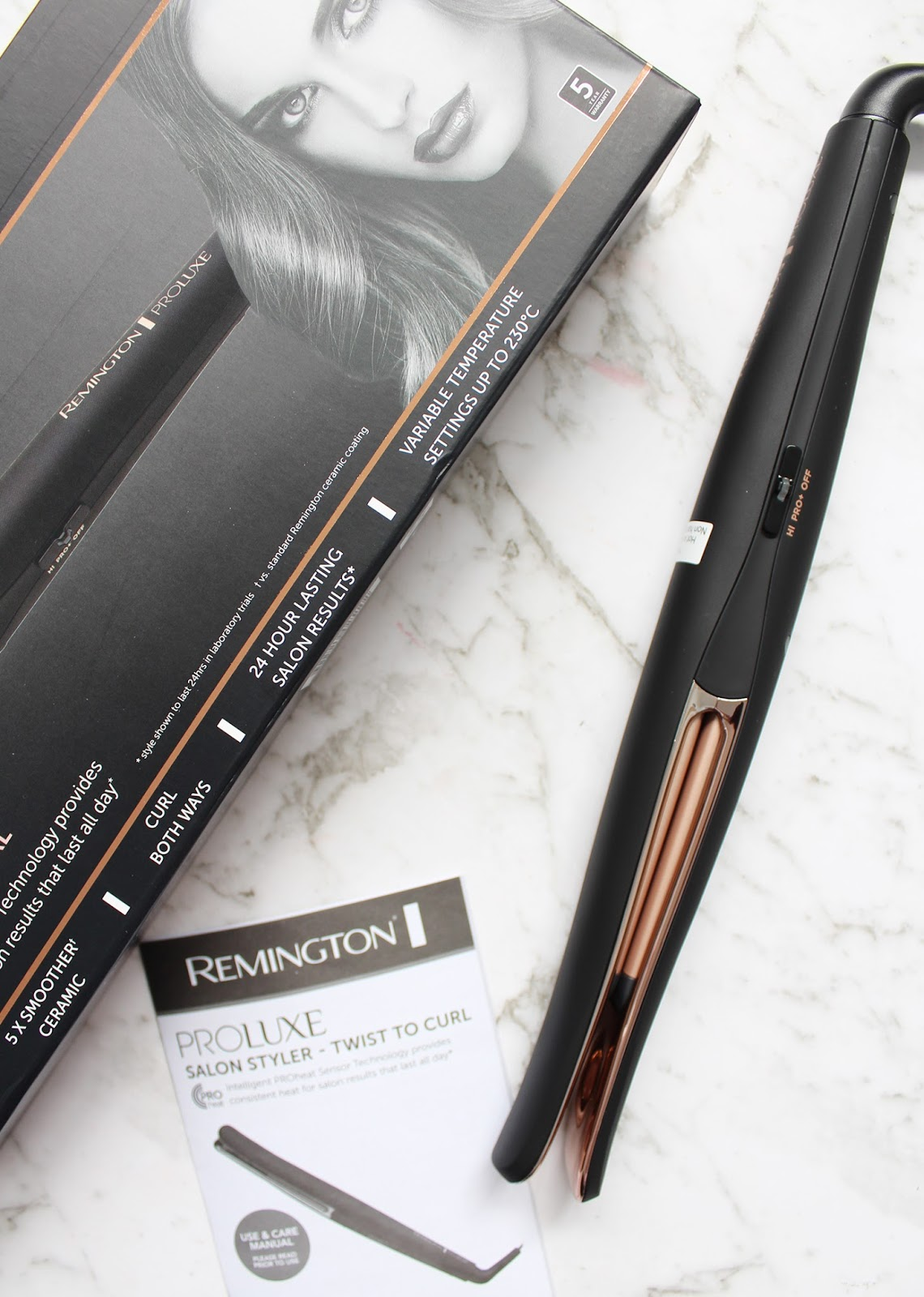 REMINGTON | Proluxe Salon Styler Twist to Curl - Review - CassandraMyee