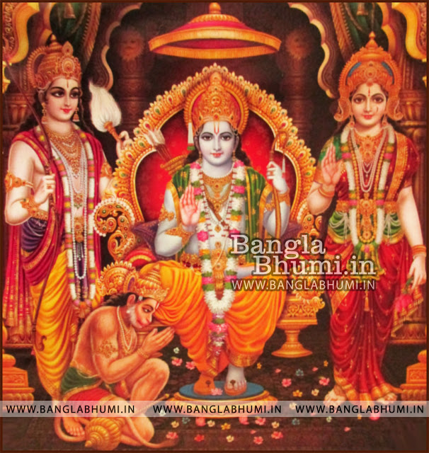 shri ram sita laxman hanuman high quality wallpaper free download