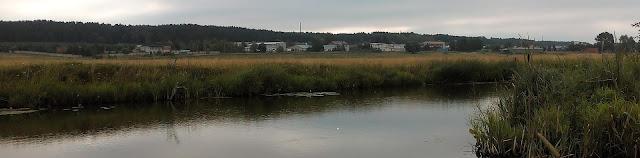 Северный посёлок. Осушительный канал. Комсомольское