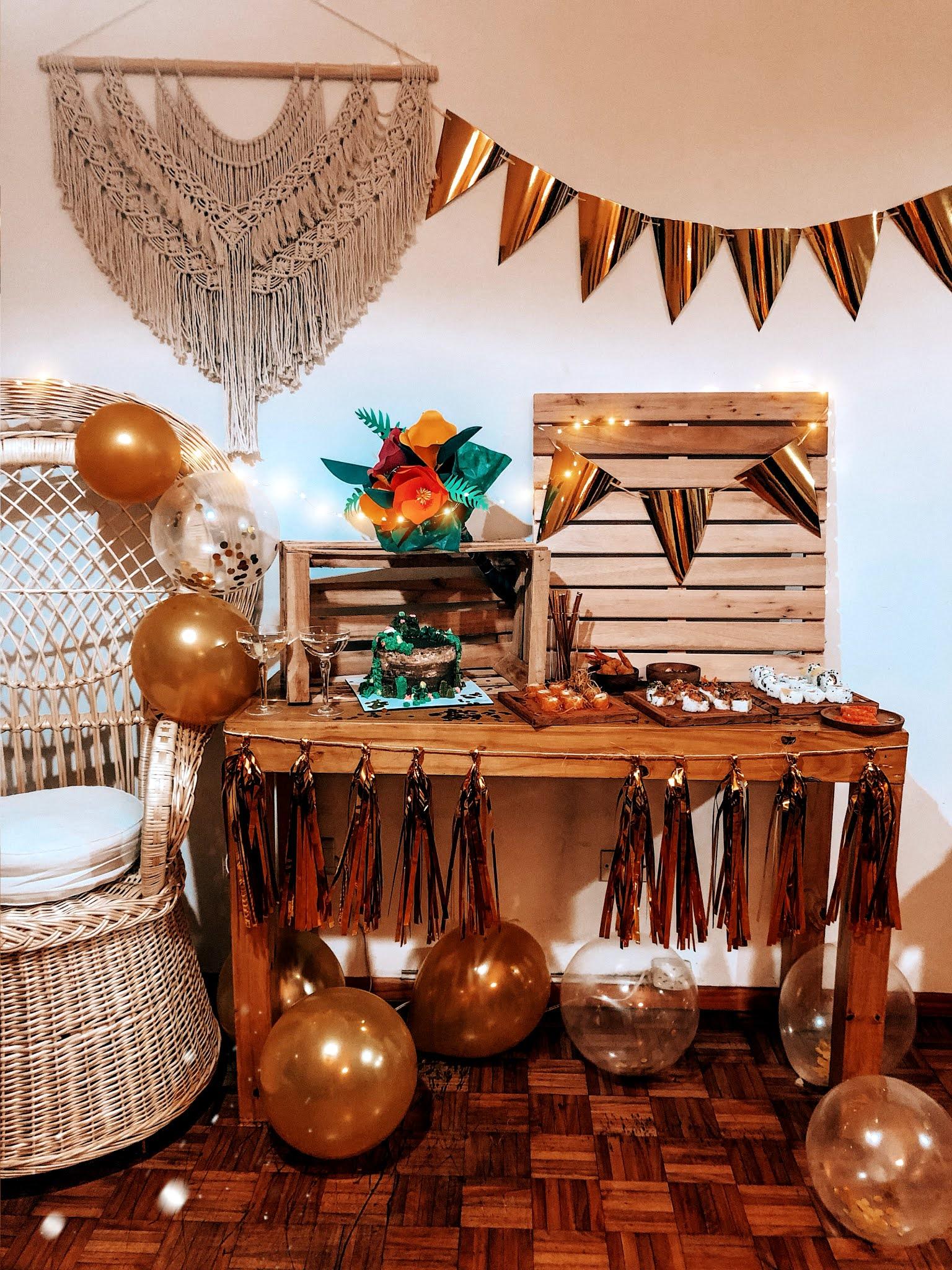 Decoración Fiesta en Interiores (en Casa)