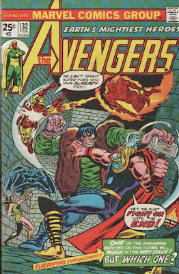 Avengers #132, the Legion of the Unliving