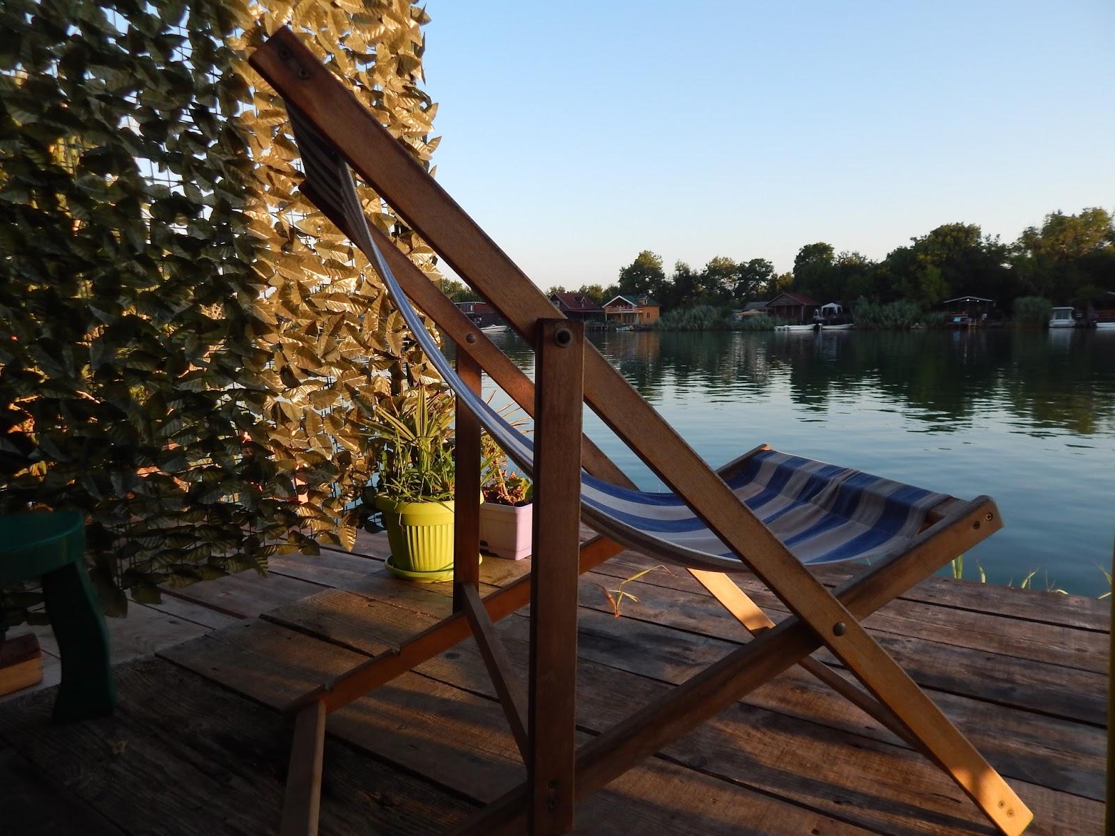 Východ slunce na verandě v Černé Hoře Ada Bojana
