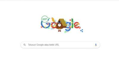 Rayakan Tahun Baru 2021, Google Hadirkan Doodle Berbentuk Jam Burung Ikonik