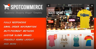 SpotCommerce V1.6.1 – Blogger Shopping Template free download