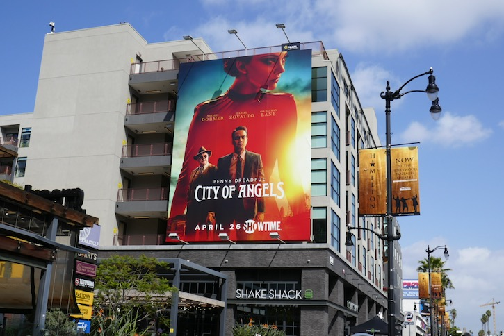 Penny Dreadful City of Angels TV billboard