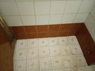 setelah poles dinding kamar mandi