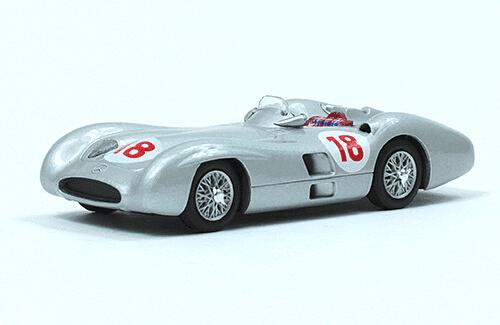 Mercedes W196 1955 Juan Manuel Fangio f1 the car collection