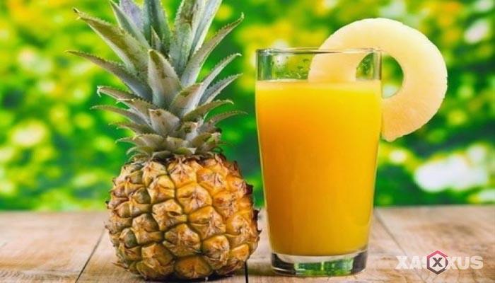 Minuman untuk diet alami dan cepat - Jus Nanas